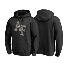 Air Force Falcons Black Camo Cloak Big & Tall Pullover College Football Hoodie