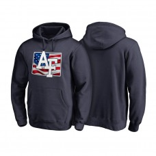 Air Force Falcons Navy Big & Tall Banner State Pullover College Football Hoodie