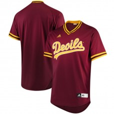 Arizona State Sun Devils Maroon 2017 College Baseball Tournament Team Performance Jersey