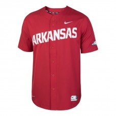 Arkansas Razorbacks Cardinal 2017 All Mid-Season Premier College Baseball Jersey