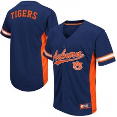 Auburn Tigers Navy 2017 All Mid-Season Premier College Baseball Jersey