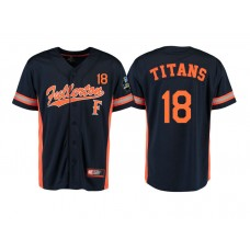 Cal State Fullerton Titans #18 Black 2017 World Series College Baseball Jersey