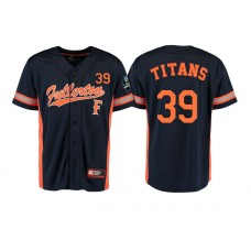Cal State Fullerton Titans #39 Black 2017 World Series College Baseball Jersey