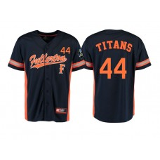Cal State Fullerton Titans #44 Black 2017 World Series College Baseball Jersey