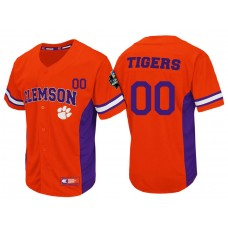 Clemson Tigers Orange Strike Zone College Baseball Custom Jersey
