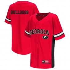 Georgia Bulldogs Red 2017 All Mid-Season Premier College Baseball Jersey