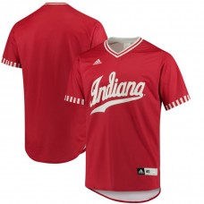 Indiana Hoosiers Crimson 2017 College Baseball Tournament Team Performance Jersey
