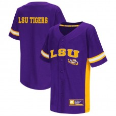 LSU Tigers Purple 2017 All Mid-Season Premier College Baseball Jersey