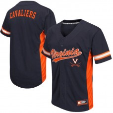 Virginia Cavaliers White 2017 All Mid-Season Premier College Baseball Jersey