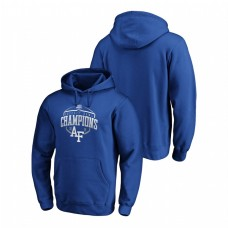 Air Force Falcons 2019 Cheez-It Bowl Champions Corner Fanatics Branded Royal Hoodie