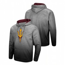 Arizona State Sun Devils Heathered Gray Sitwell Sublimated Pullover College Football Hoodie