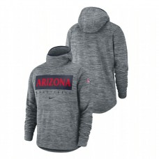 Arizona Wildcats Gray Spotlight Basketball College Football Hoodie