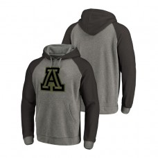 Arizona Wildcats Heathered Gray Prestige Big & Tall Triblend College Football Hoodie
