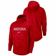Arizona Wildcats Basketball Spotlight Team Logo Pullover Red College Football Hoodie
