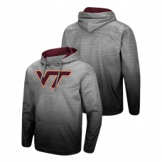 Virginia Tech Hokies Heathered Gray Sitwell Sublimated Pullover College Football Hoodie