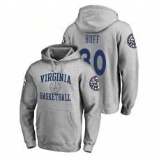 Virginia Cavaliers #30 Heathered Gray Jay Huff Fanatics Branded In Bounds College Basketball Hoodie