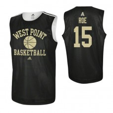 Army Black Knights #15 Adam Roe Practice Black Jersey