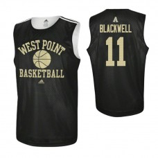 Army Black Knights #11 Tucker Blackwell Practice Black Jersey