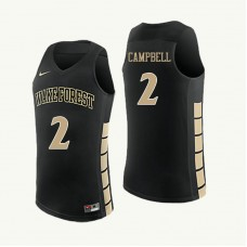Wake Forest Demon Deacons Amber Campbell Replica Black Jersey