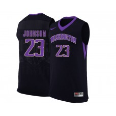 Washington Huskies Carlos Johnson Alternate Black Jersey