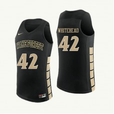 Wake Forest Demon Deacons Tyra Whitehead Replica Black Jersey