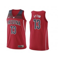 Arizona Wildcats #13 Deandre Ayton Red College Basketball Jersey