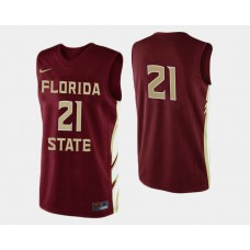 Florida State Seminoles #21 Michael Snaer Garnet Road College Basketball Jersey