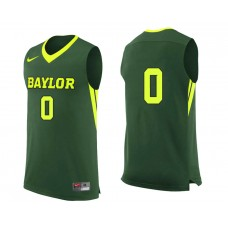 Baylor Bears #0 Jo Lual-Acuil Jr. Green College Basketball Jersey