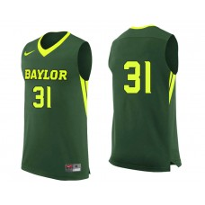 Baylor Bears #31 Terry Maston Green College Basketball Jersey
