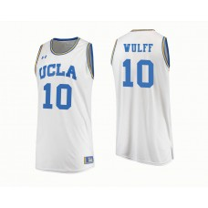 UCLA Bruins #10 Isaac Wulff White College Basketball Jersey