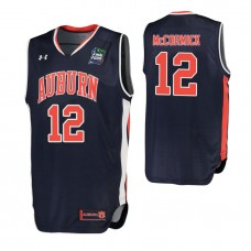 Auburn Tigers #12 J'Von McCormick Navy 2019 Final Four College Basketball Jersey
