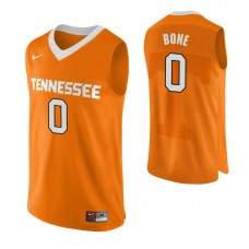 Tennessee Volunteers #0 Jordan Bone Authentic Performace Orange Jersey