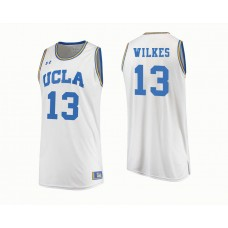 UCLA Bruins #13 Kris Wilkes White College Basketball Jersey