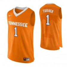 Tennessee Volunteers #1 Lamonte Turner Authentic Performace Orange Jersey