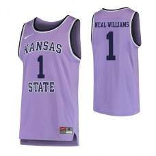 Kansas State Wildcats #1 Shaun Neal-Williams Replica Purple Jersey