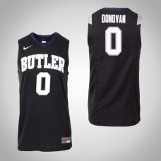 Butler Bulldogs #0 Campbell Donovan Black College Basketball Jersey