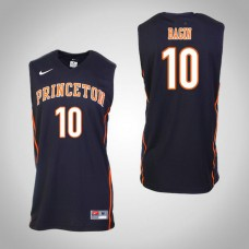 Princeton Tigers #10 Charlie Bagin Black College Basketball Jersey