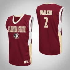 Florida State Seminoles #2 CJ Walker Red College Basketball Jersey