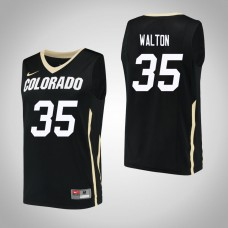 Colorado Buffaloes #35 Dallas Walton Black College Basketball Jersey
