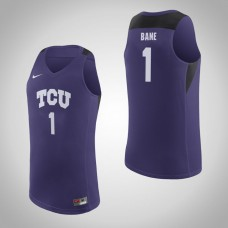 TCU Horned Frogs #1 Desmond Bane Purple College Basketball Jersey
