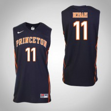 Princeton Tigers #11 Elias Berbari Black College Basketball Jersey