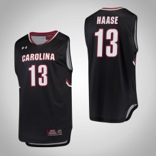 South Carolina Gamecocks #13 Felipe Haase Black College Basketball Jersey