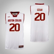 Boston College Eagles #20 Gordon Gehan Cardinal College Basketball Jersey