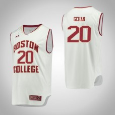 Boston College Eagles #20 Gordon Gehan White College Basketball Jersey