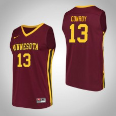 Minnesota Golden Gophers #13 Hunt Conroy Maroon College Basketball Jersey