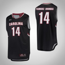 South Carolina Gamecocks #14 Ibrahim Famouke Doumbia Black College Basketball Jersey
