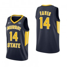 Murray State Racers #14 Jaiveon Eaves Navy College Basketball Jersey
