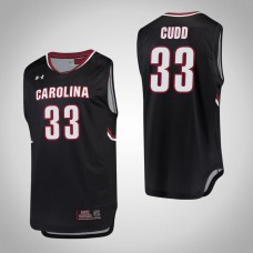 South Carolina Gamecocks #33 Jason Cudd Black College Basketball Jersey