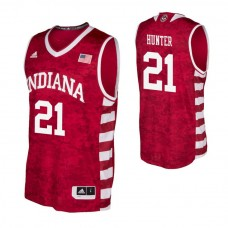 Indiana Hoosiers #21 Jerome Hunter Crimson College Basketball Jersey