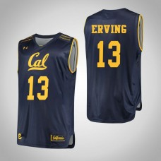 California Golden Bears #13 Jules Erving Navy College Basketball Jersey